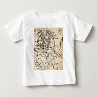 Samurai defeating serpent c. 1800's shirt