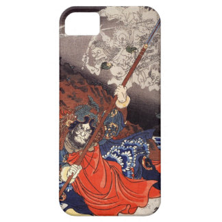 Samurai Fighting Demons Case For The iPhone 5