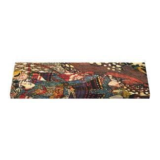 Samurai Fighting Toad II Canvas Print
