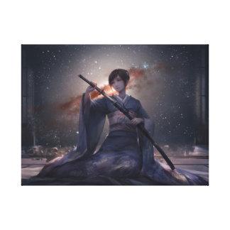 Samurai Girl Canvas Print