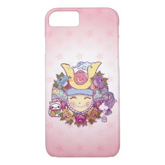 samurai girl kawaii marries iPhone 8/7 case