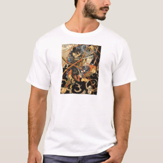 Samurai Grappling Monster T-Shirt