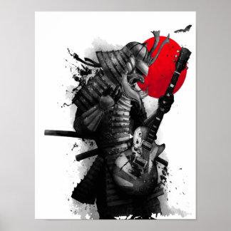 Samurai Guitarist cool poster
