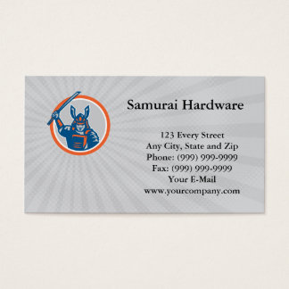 Samurai Hardware Business card