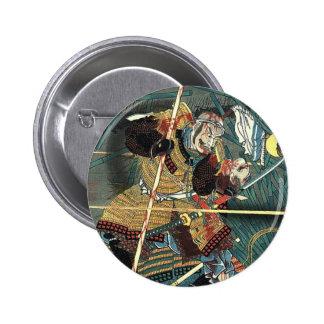 Samurai Hero 6 Cm Round Badge