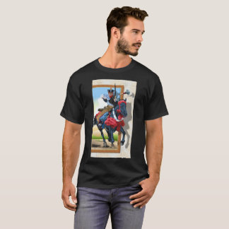 Samurai Horseman Dark T-Shirt