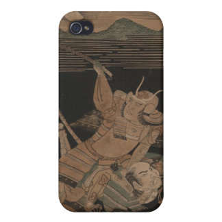 Samurai in Combat at Night circa 1770 iPhone 4/4S Covers