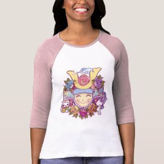 samurai kawaii girl T-Shirt