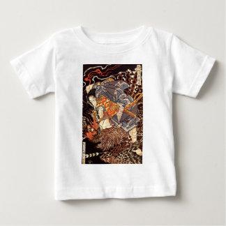 Samurai killing Tengu/bird Painting, c. 1800's Baby T-Shirt