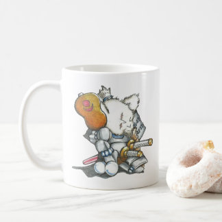 Samurai Mouse in Armor Mug