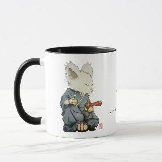Samurai Mouse in Tatehiza Mug