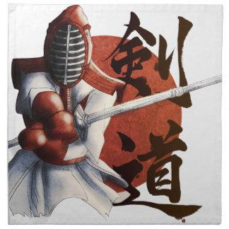 samurai napkin