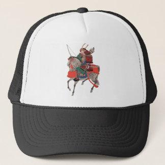 Samurai on Horseback Trucker Hat