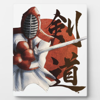 samurai plaque