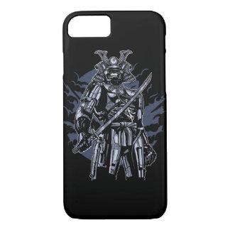 Samurai Robot Glossy Phone Case