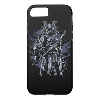 Samurai Robot Skull Tough Phone Case