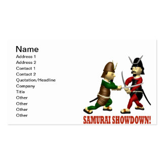 Samurai Showdown Pack Of Standard Business Cards