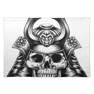 Samurai Skull Placemat