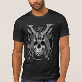 Samurai Skull Warrior T Shirts
