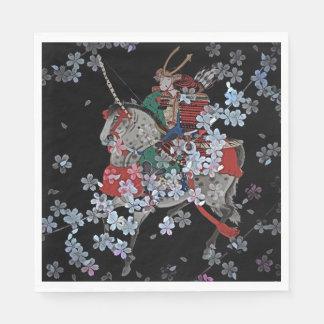 Samurai Standard Luncheon Paper Napkins