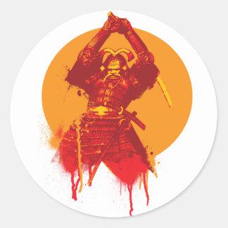 Samurai Strike Sticker