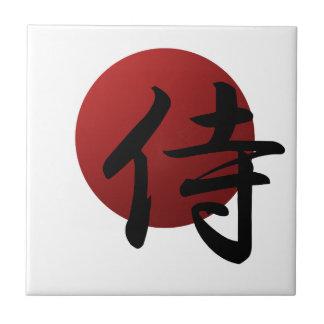 Samurai Sun Tile