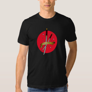 Samurai Sword Tattoo Shirt