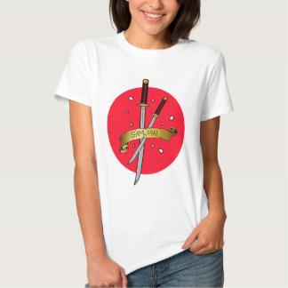Samurai Sword Tattoo T-shirts