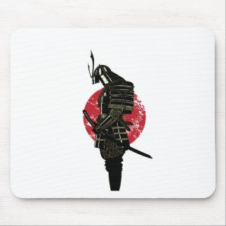 Samurai twilight mouse pad