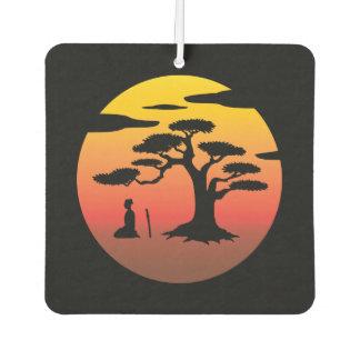 Samurai Under Tree Air Freshener