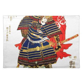 Samurai - Utagawa Kuniyoshi 歌川 国芳 Placemat