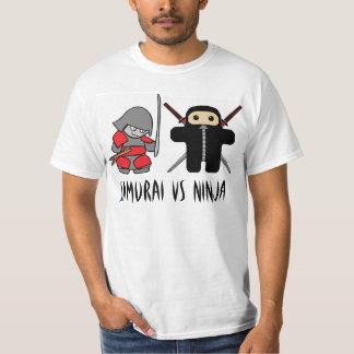 Samurai Vs Ninja Tshirts