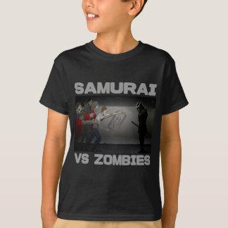 Samurai vs Zombies T-Shirt