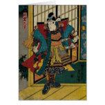 Samurai Warrior 19th Century Card