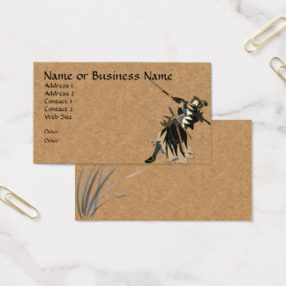 Samurai Warrior Business Profile Card