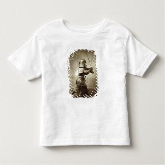Samurai with raised sword, c.1860 (albumen print) t shirt