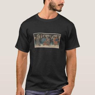 Samurai with Sword Drawn circa 1847 Japan T-Shirt
