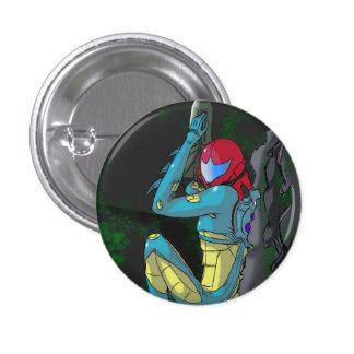 Samus fusion suite 3 cm round badge