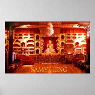 samye ling temple poster