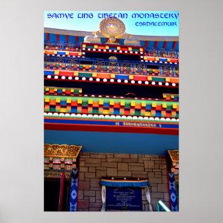 samye ling tibetan temple scotland poster