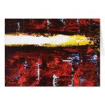 """San Andreas"" - Modern Abstract Art Note Card"