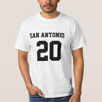 SAN ANTONIO #20 Basic WhiteT-Shirt Tees