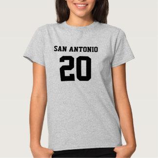 SAN ANTONIO #20 WOMEN'S HANES T-SHIRT