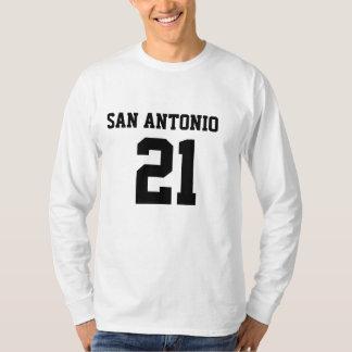 SAN ANTONIO #21 Men's Basic Longsleeves T-Shirt