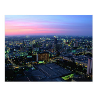 San Antonio at Dusk Postcard