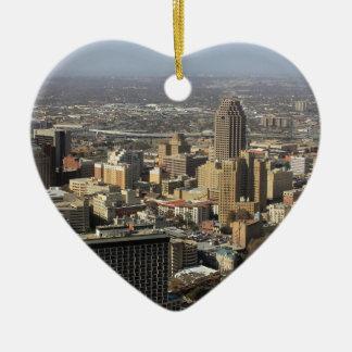 San Antonio Ceramic Heart Decoration