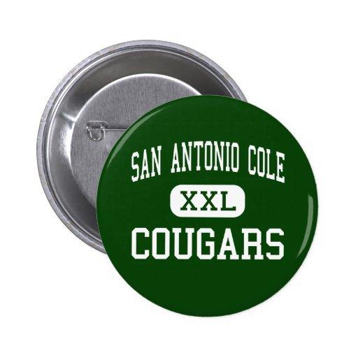 San Antonio Cole - Cougars - High - San Antonio Pins