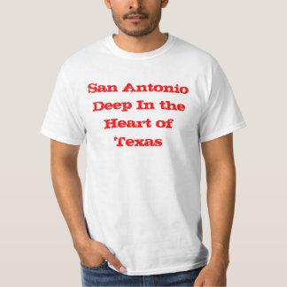 San Antonio Deep In the Heart of Texas Tshirt
