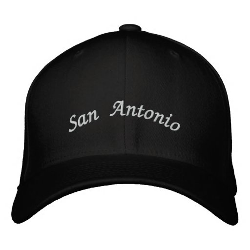San Antonio Embroidered Baseball Cap