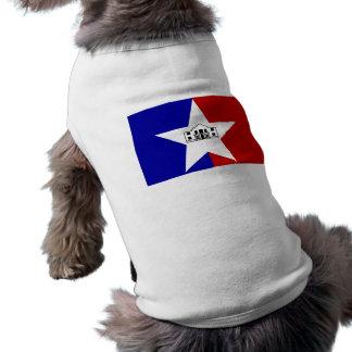 San Antonio Flag Pet Tshirt